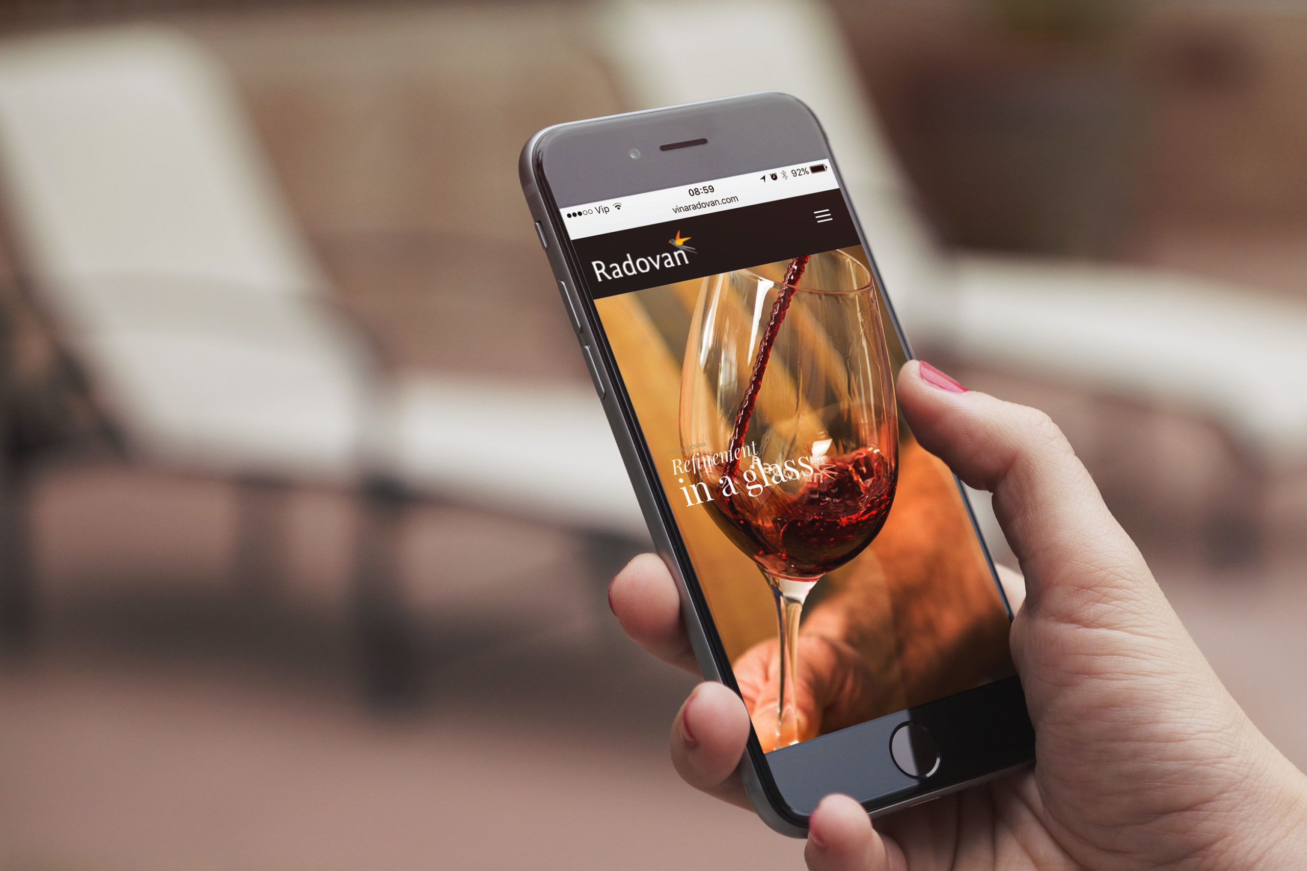hren | plethora of creativity // Radovan winery digital presence