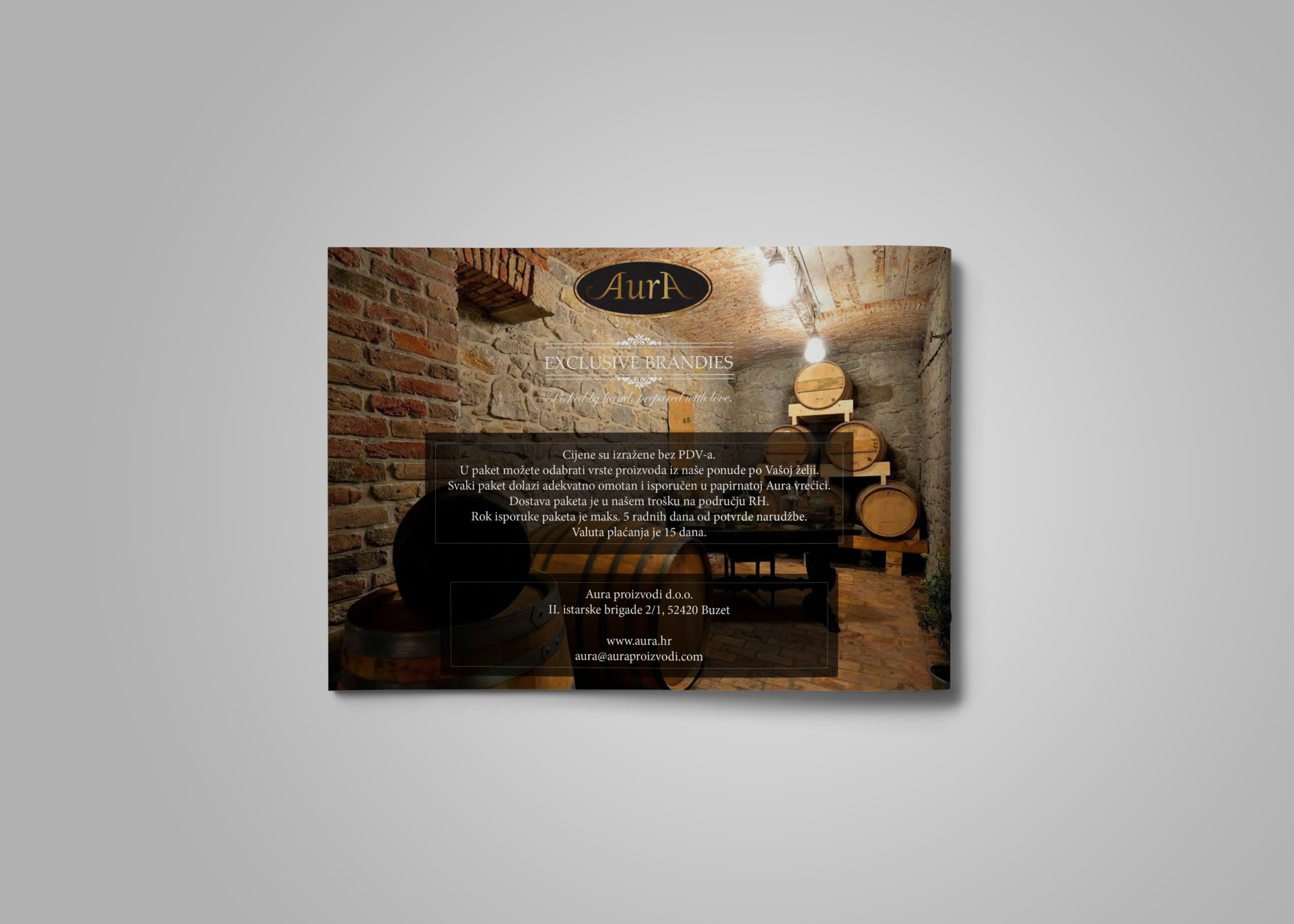 hren | plethora of creativity // Distillery Aura product catalogue