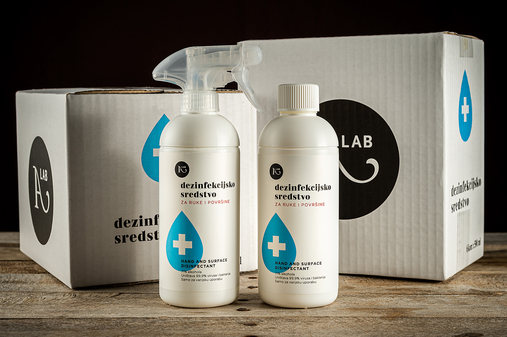 hren | plethora of creativity // A lab disinfection product photography