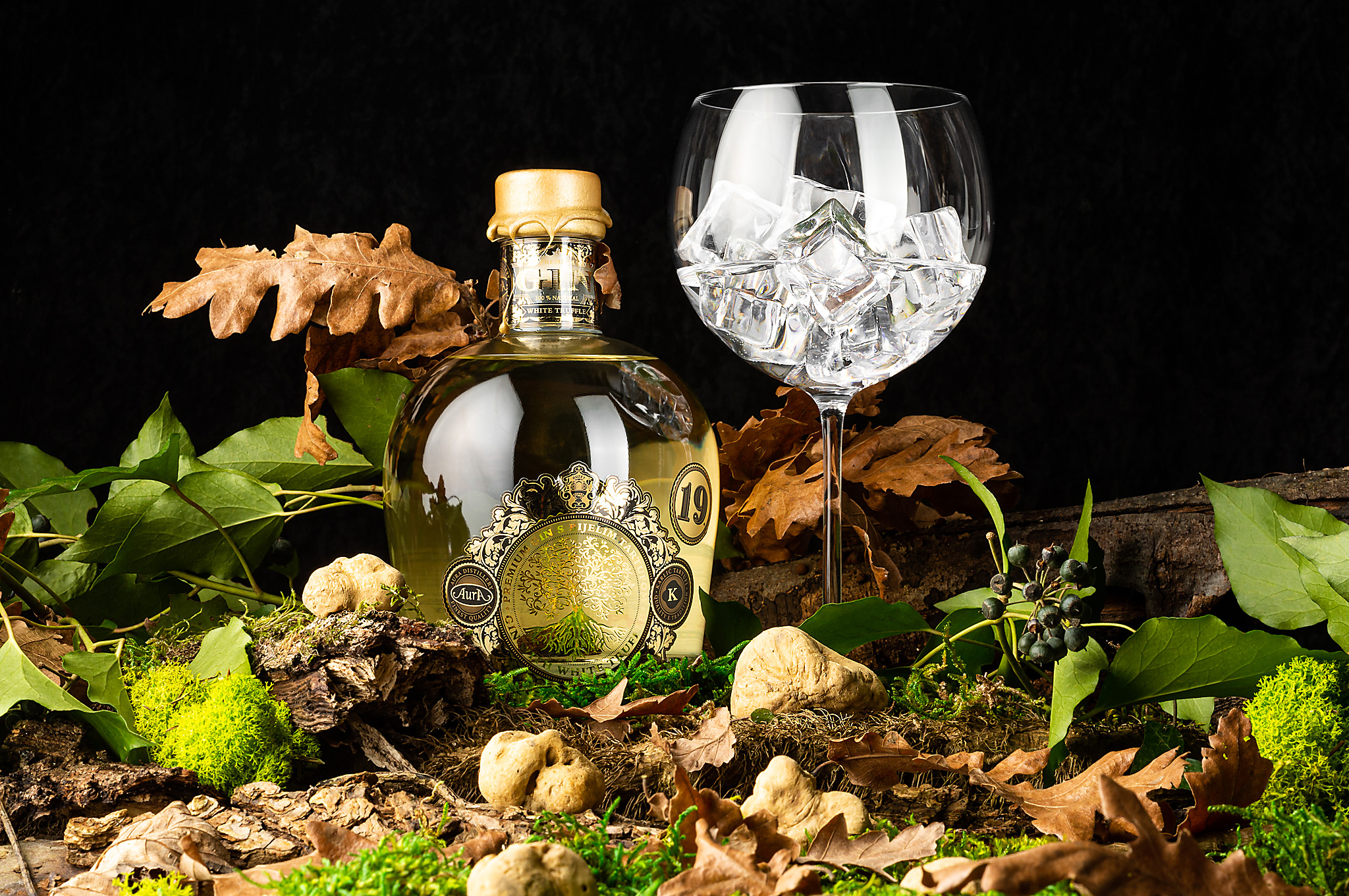 hren | plethora of creativity // Distillery Aura and Karlić Truffles product photography