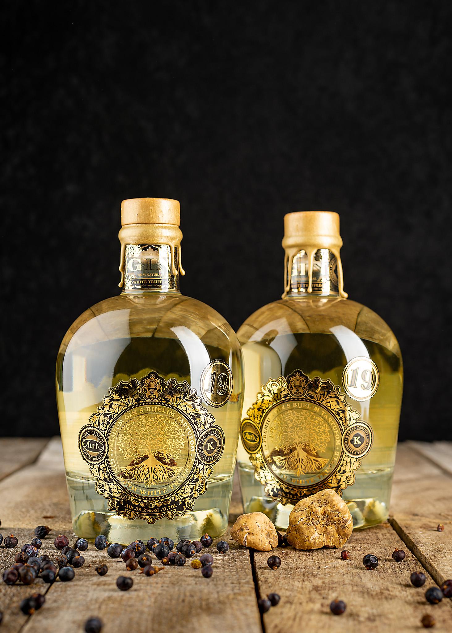 hren | plethora of creativity // Distillery Aura and Karlić Truffles product photography