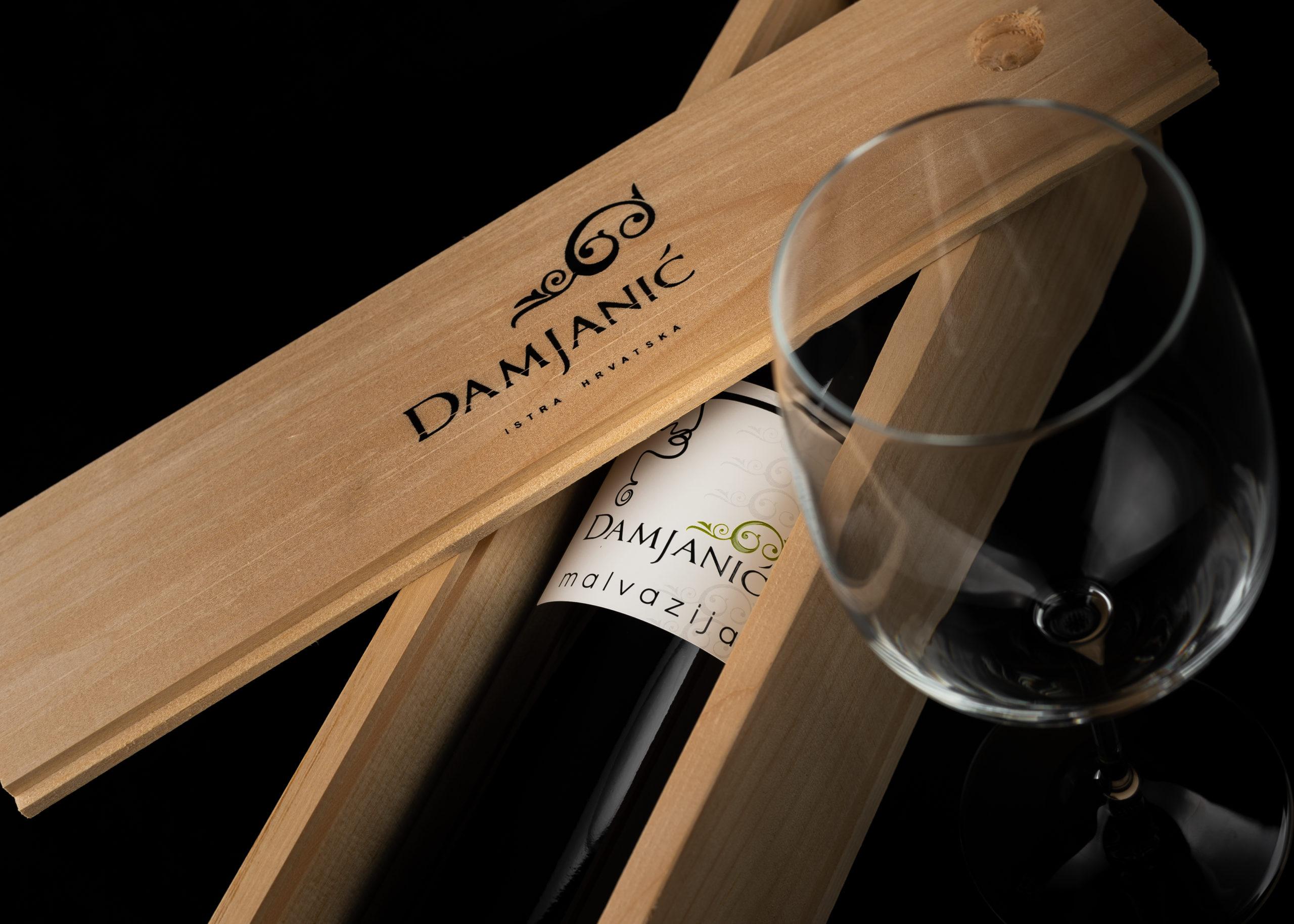 hren | plethora of creativity // Damjanić winery product photography
