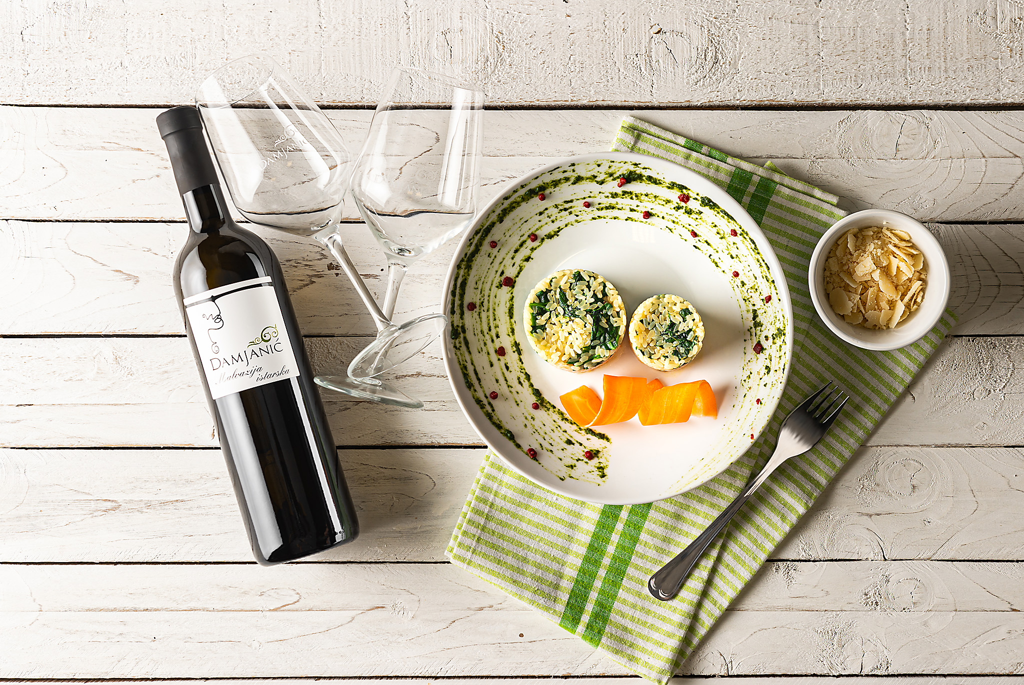 hren | plethora of creativity // Damjanić winery food pairing product photography