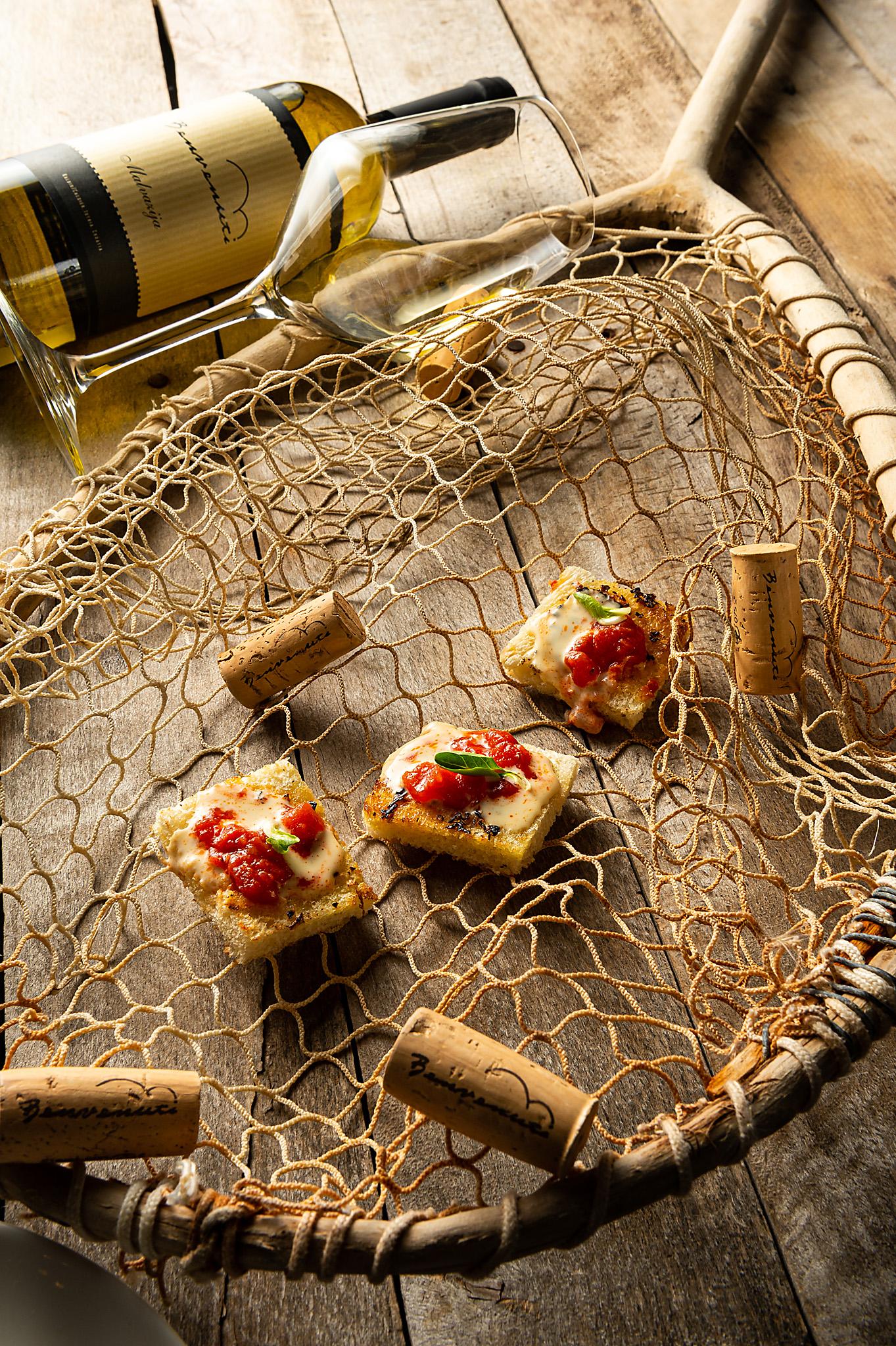 hren | plethora of creativity // Benvenuti winery food pairing photography