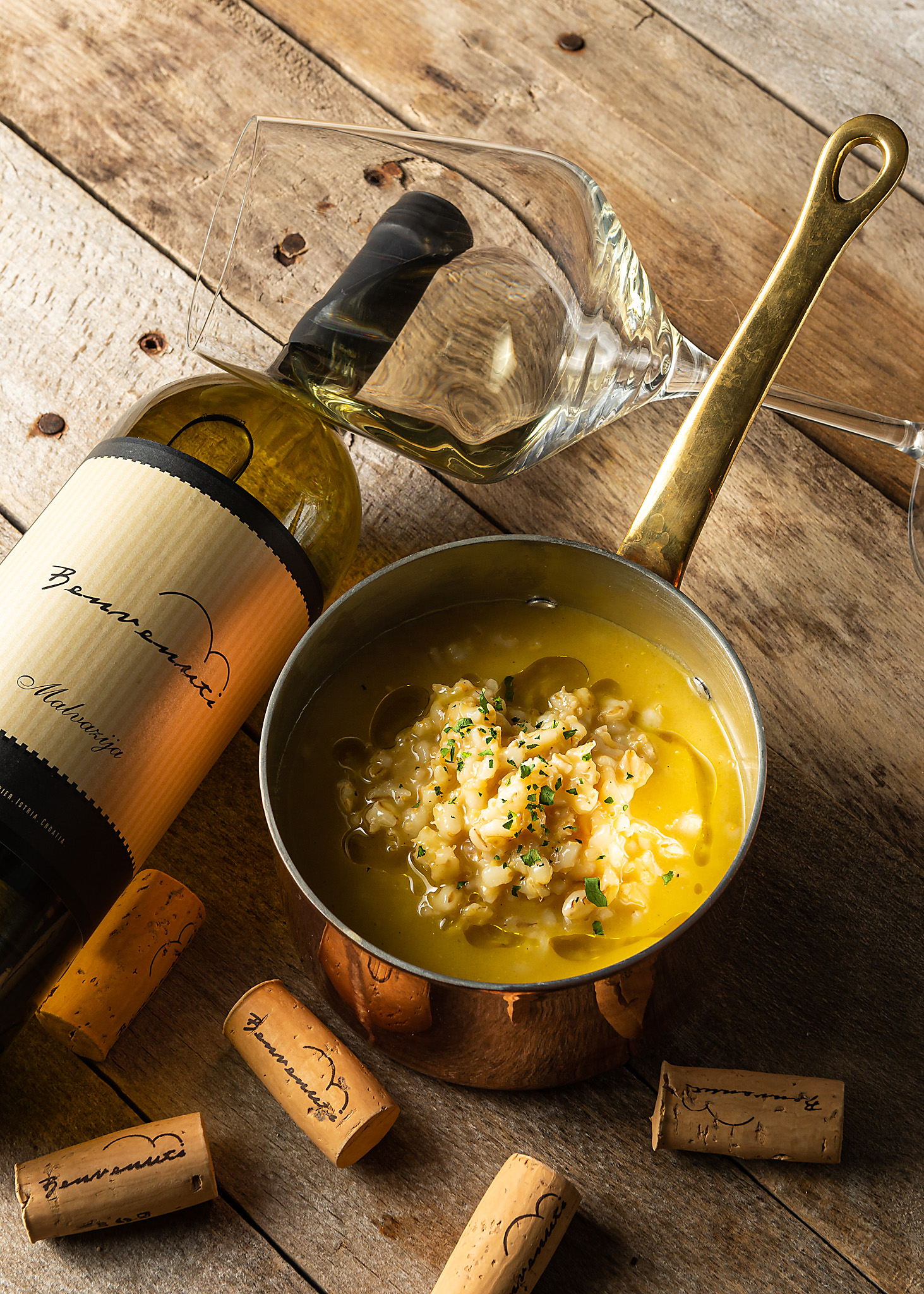 hren | plethora of creativity // Benvenuti winery food pairing photography